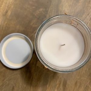 "Rae Dunn Accents - Rae Dunn 6.5oz ""Home"" jar candle. Harvest spice"